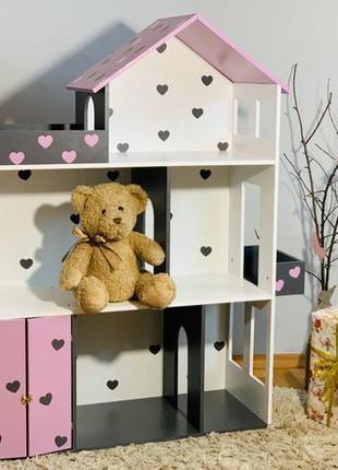 Кукольный домик Дом для кукол Барби лол Ляльковий будиночок