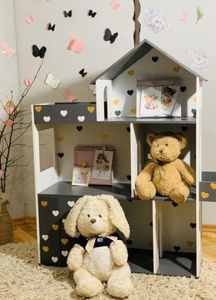 Кукольный домик для Кукол Барби лол Дом для кукол Домик