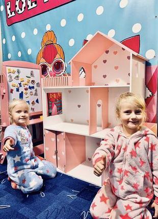 Кукольный домик Дом для кукол Барби Акция!