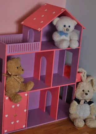 Дом для кукол Барби Монстер Хай + ПОДАРОК Кукольный домик
