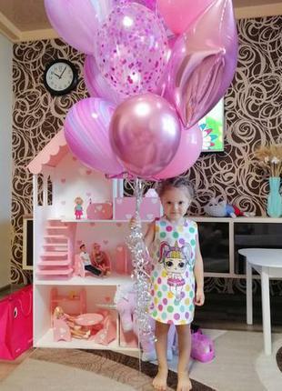 Большой Кукольный домик для Барби Дом для кукол лол