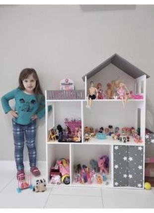 Кукольный домик Дом для кукол БАРБИ Монстер Хай Винкс ЛОЛ