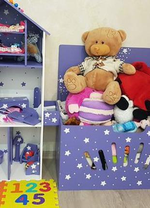 Детский Кукольный Домик Дом для кукол Монстер Хай Барби Лол