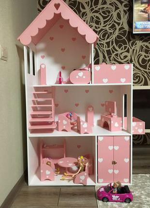 Кукольный домик для Барби лол Винкс монстер хай