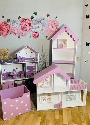 Кукольный домик Барби лол Винкс монстер хай дом для кукол