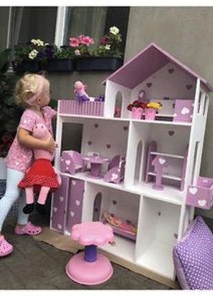 Кукольный домик Домик для кукол Монстер Хай Барби Лол Винкс