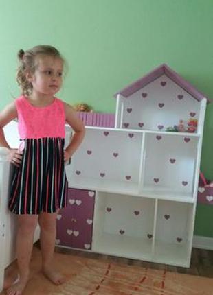 Развивающий Кукольный домик Дом для кукол Монстер Хай Барби