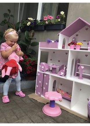 Акция!!Кукольный домик ЭКО Ляльковий будинок Дом для кукол Барби
