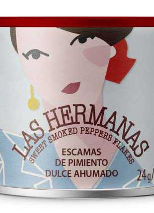 Копченая паприка Las Hermanas 24г хлопья Simply Organic, Frontier