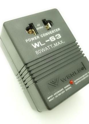 Инвертор 220В в 110В и 110V в 220V преобразователь напряжения ...