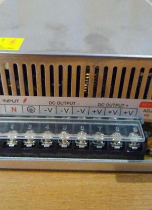 Блок Питания адаптер 12 В 50 А 600 Вт 12V 50A 600W металл 110v...