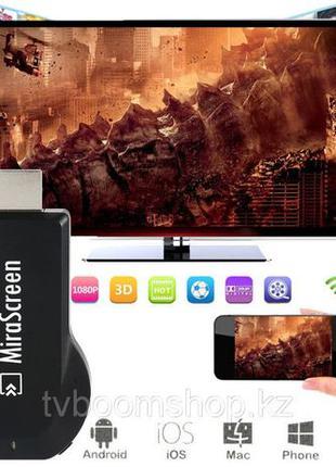 Беспроводной HDMI WiFi адаптер Mirascreen картинка с телефона ...