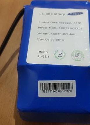 Аккумулятор Samsung для гироскутера Гироборда батарея SL3 36v ...