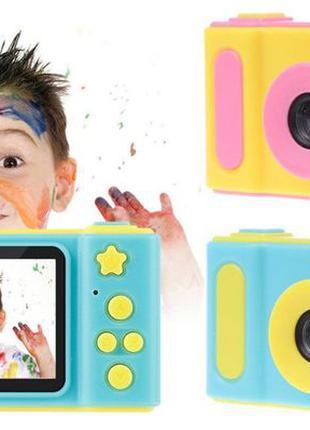 Детский цифровой фотоаппарат фото видео камера и 5 Игр Smart K...