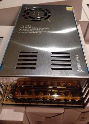 Блок Питания адаптер 12В 30 А 360Вт 12V 30A металл Акция !!!