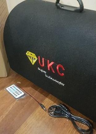 Колонка беспроводная Сабвуфер Bluetooth FM 1008BT 12 и 220В 18...
