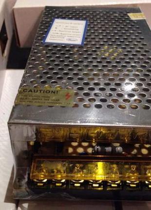 Блок питания адаптер 12В 10А 120Вт 12V 10 A металл Акция !!!