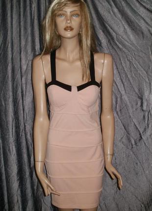 Красивое платье-бюстье. размер 8-10