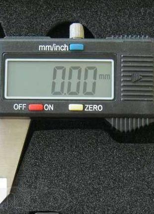 Электронный штангенциркуль микрометр 150мм LCD в кейсе штангел...