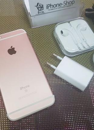 Apple iPhone 6s 16Gb. Rose Gold ( neverlock ), с гарантией от ...