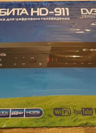 Тюнер Т2 ОРБИТА HD-911 (DVB/T2) YouTube