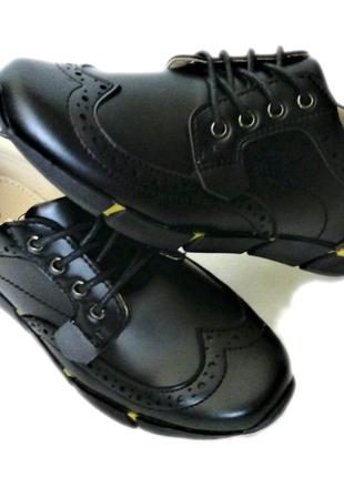 Фирменные туфли броги тм b&g 32, 33, 34, 35, 36, 37 размеры