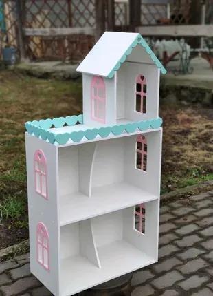 В наличии! Кукольный домик модель Моника ляльковий будинок барби