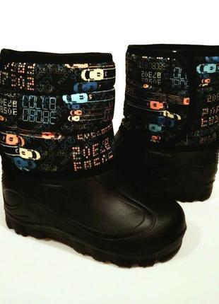 Зимние непромокаемые ботинки из эва 30 размер