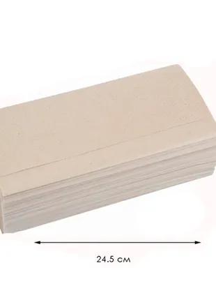 Бумажное полотенце V 160 листов СЕРОЕ