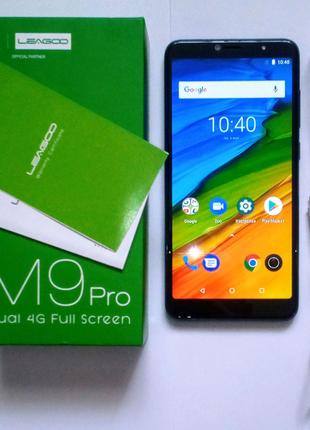 "LEAGOO M9 PRO 5.72"" 2ГБ/16ГБ Android 8.1.0 13+2МР 1440х720 4G"