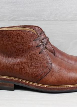 Мужские кожаные ботинки john white, размер 41.5