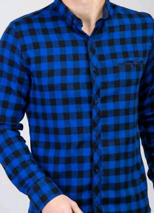 Кашемировая рубашка в клетку