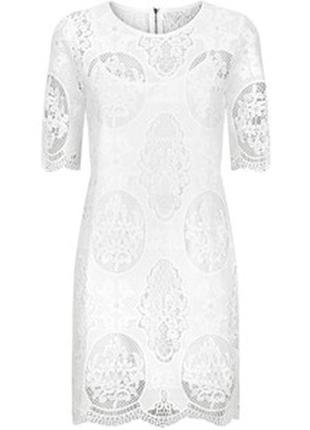 Кружевное платье-туника cameo rose