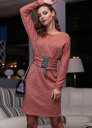 Шикарное платье ангора летучая мышь