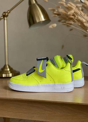 Nike air force 1 utility volt мужские кроссовки найк