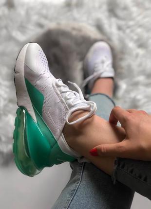 Nike air max 270 white green