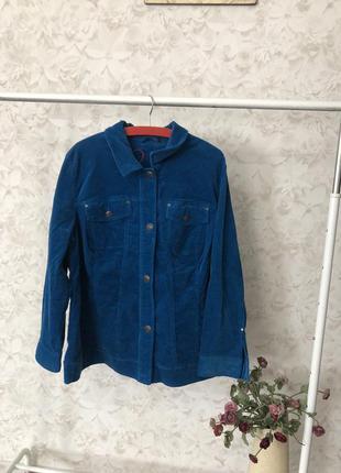Вельветовая куртка ulla popken большой размер!
