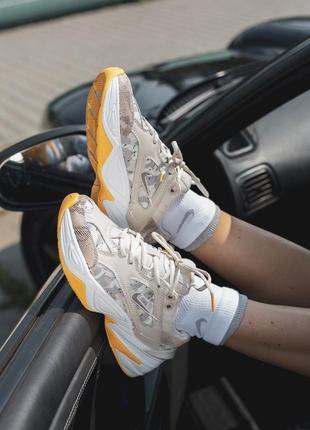 Шикарные женские кроссовки с принтом nike m2k tekno