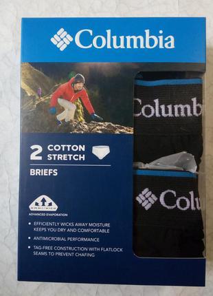 Чоловічі труси columbia sportswear black cotton  omni-wick ори...