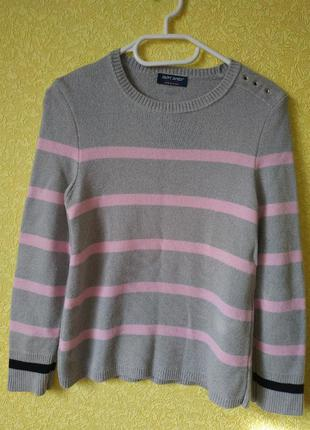 Saint james шерстяной свитер, кардиган, джемпер, пуловер, водо...