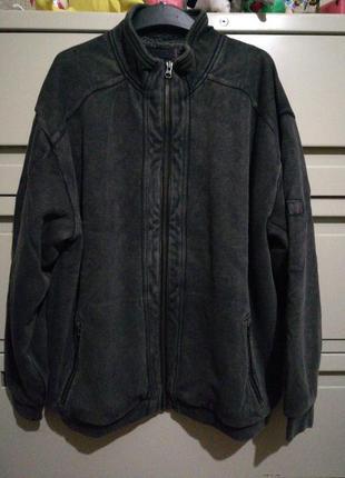 Куртка на меху большого размера вр03