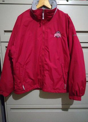 Фирменная куртка большого размера мо04