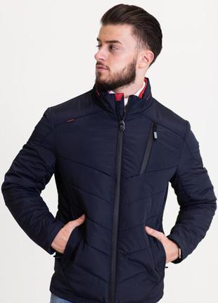 Весенняя мужская куртка короткая (46-54рр)