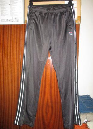 спортивные штаны на кнопках Fila