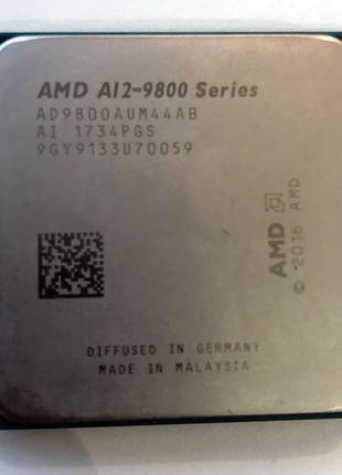 Процессор AMD A12-9800 AM4 3,8-4,2ГГц 4 ядра 4мб кеш Radeon R7