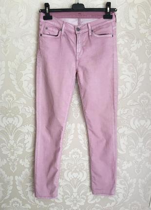 7 for all mankind оригинал розовые джинсы скини