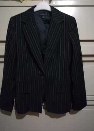 Жакет пиджак бредовый шерстяной