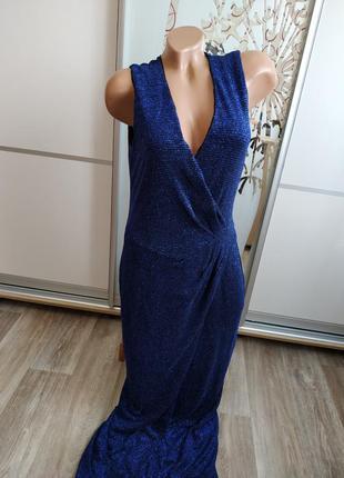 Шикарное вечернее платье с накидкой
