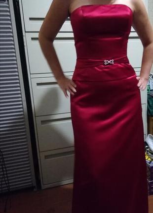 Вечернее платье костюм