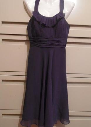 Нарядное платье david`s bridal р-р 6-8